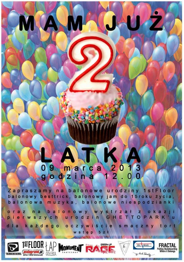 2gie urodziny 1st floor