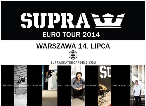 Supra Tour zapowiedź