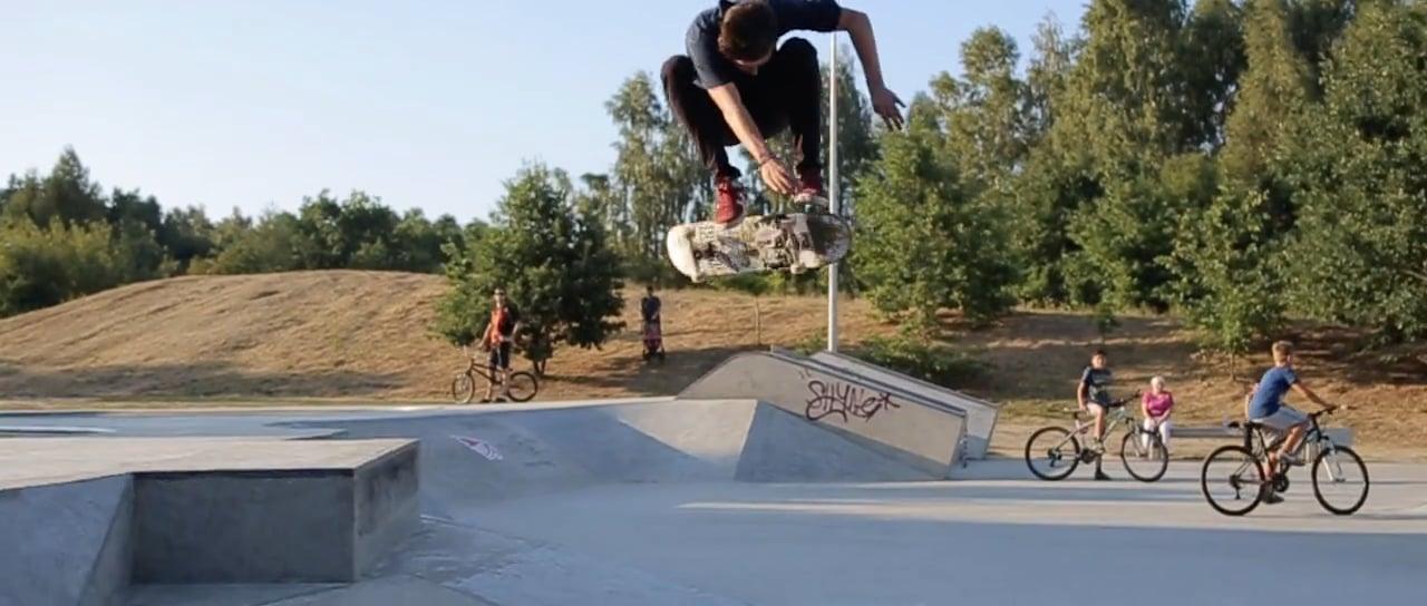 Skate ollie learn english